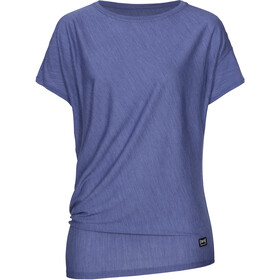super.natural Yoga Loose Tee Women coastal fjord melange
